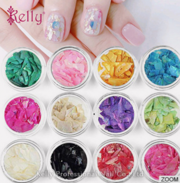 2D Self-adhesive Flower Pattern Nail Art Sticker Decals | Kelly ...