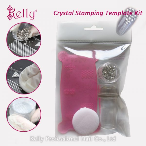 Crystal stamping template kit-04