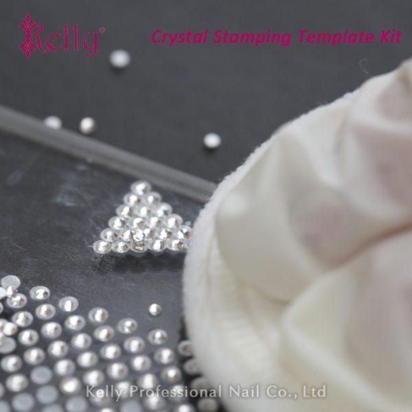 Crystal stamping template kit-06