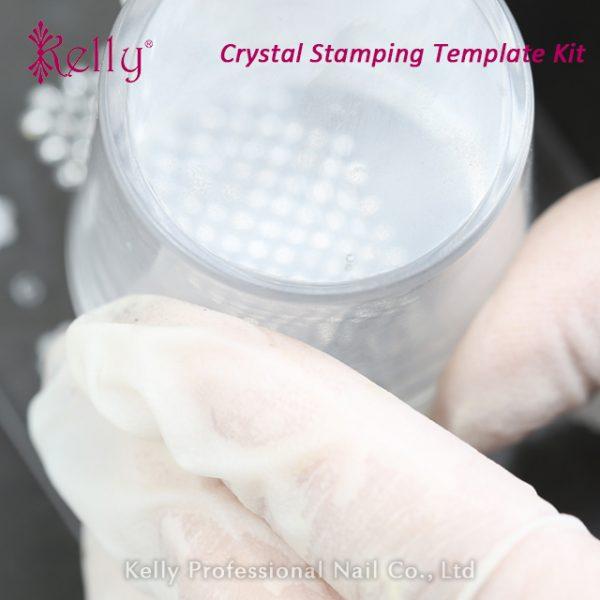 Crystal stamping template kit-07
