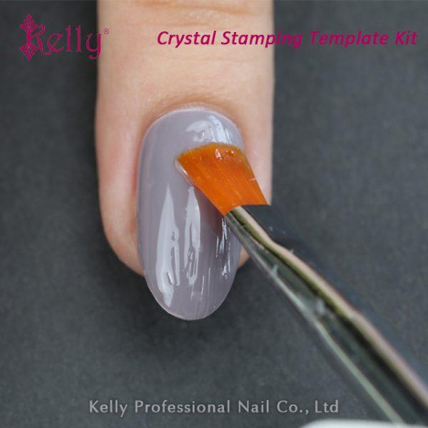 Crystal stamping template kit-09