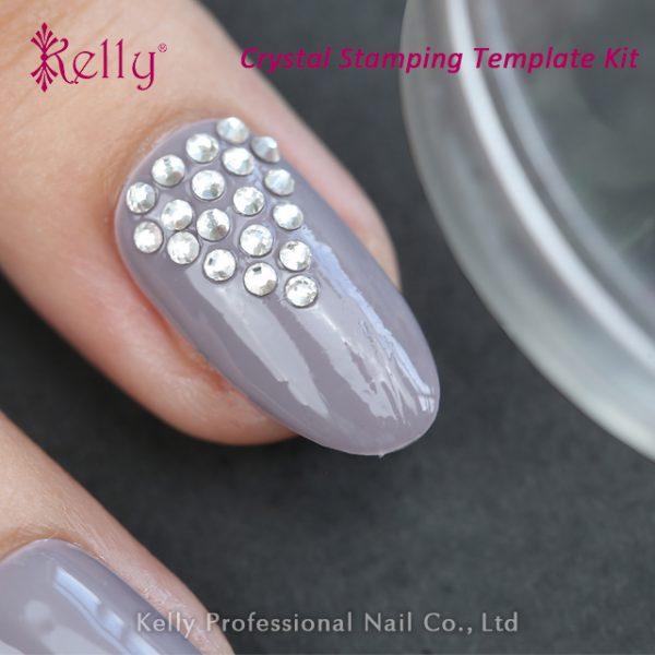 Crystal stamping template kit-10