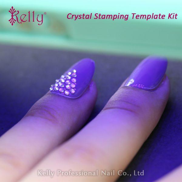 Crystal stamping template kit-11